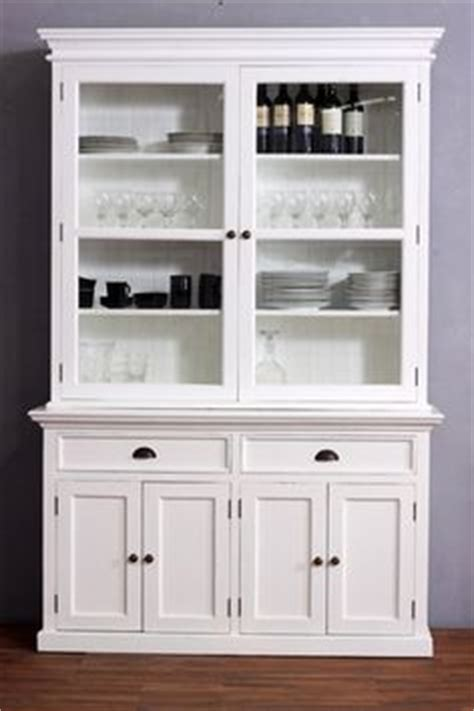 White Kitchen Dresser by Kitchen Hutch Ideas On Decorating A Hutch