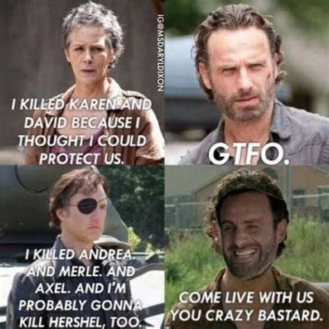 Stuff And Things Meme - walking dead memes season 5 image memes at relatably com