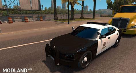 usa police traffic  solaris da modza mod  american truck simulator ats