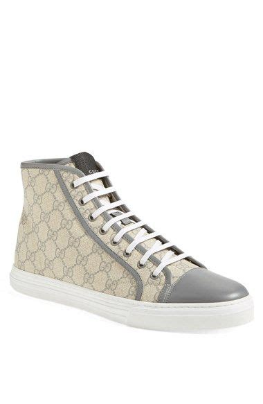 nordstrom gucci sneakers gucci california high top sneaker available at