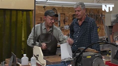 anthony bourdain on kitchen knives anthony bourdain news gif by nowthis find share on giphy