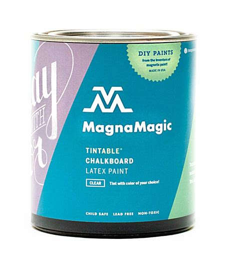 chalkboard paint quart buy the magnamagic qcbp820 chalkboard paint tintable