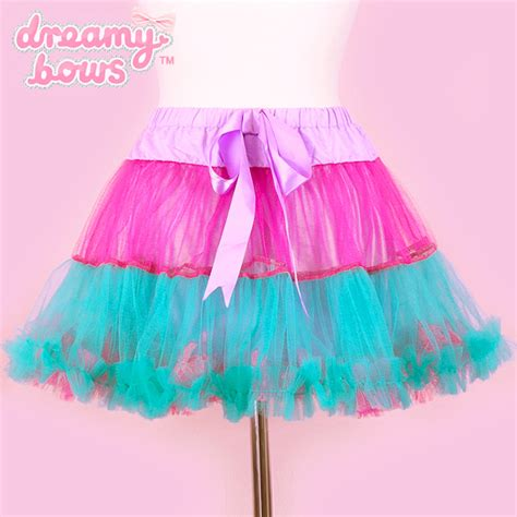 Skirt Tutu Ribbon buy listen flavor tulle tiered ribbon tutu skirt pink at dreamy bows