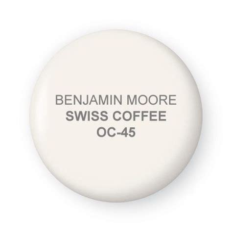 swiss coffee paint by benjamin this paint color lets elements in the room shine but holds