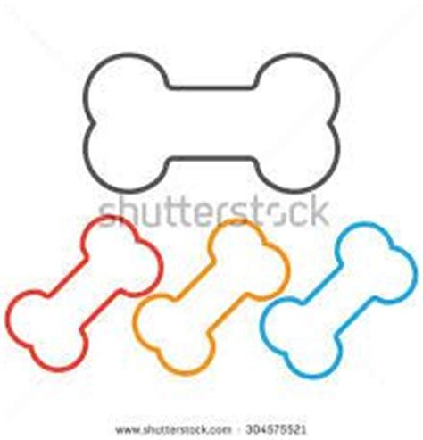 imagenes infantiles huesos huesos para perros dibujo imagui moldes para fieltro