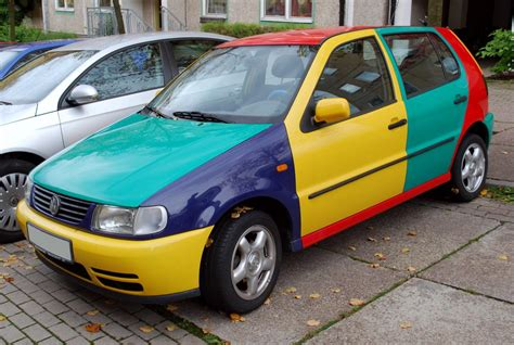 volkswagen harlequin yesterday s specials vw polo harlequin petrolblog
