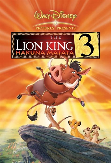 film lion king 3 movie poster for the lion king 3 flicks co nz