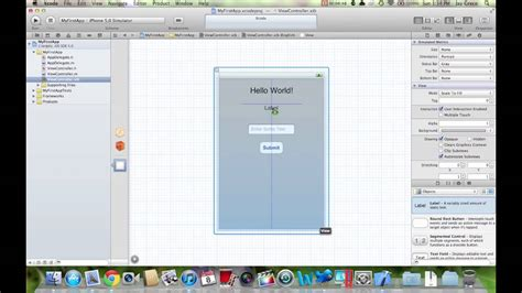 designing your first iphone app hack design how to make ios apps intro to xcode 4 building your