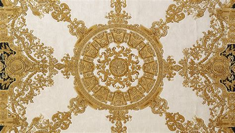 gold versace pattern baroque arty pinterest gold rug and house