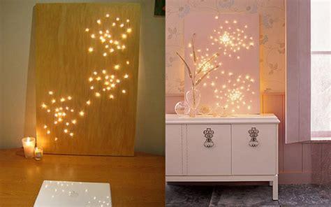 Home Decoration Lights 20 einfache handgemachte wand kunst ideen