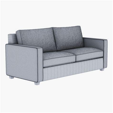 henry sofa west elm west elm henry sofa 3d model max obj fbx mtl cgtrader com