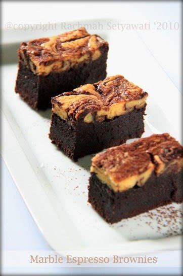 cara membuat brownies kukus pink marble kedai rachmah marble espresso brownies