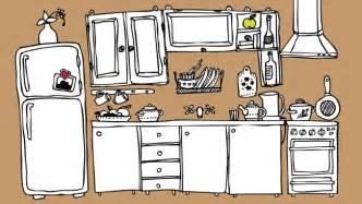 Kitchen Cartoon by Cool Storage For That Tiny Studio Kitchen Rentcafe