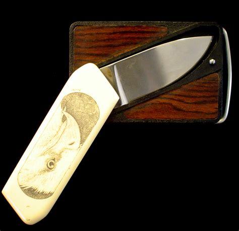 gerber belt knife vintage 1980 s production gerber touche belt buckle