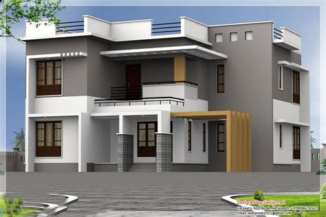 latest design of houses modern kerala home design at 2500 sq ft