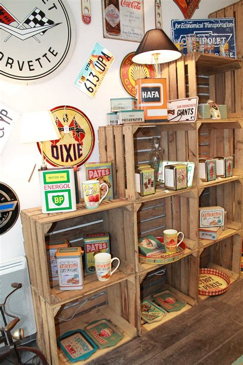 boutique objets deco vintage decoration  architecture
