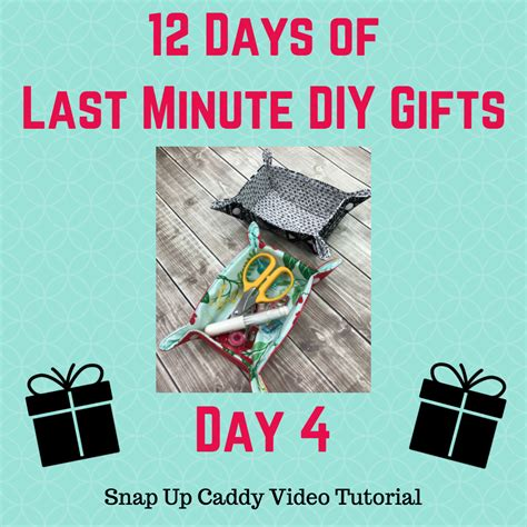 day 4 of 12 days of last minute diy gifts free