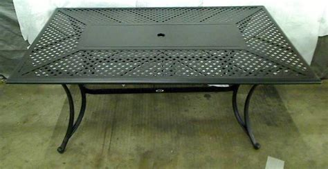 Patio Tables Only Hton Bay Fall River Patio Dining Table Table Only Tadd Ebay