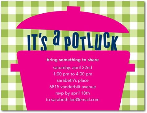 potluck email template 25 best ideas about potluck invitation on