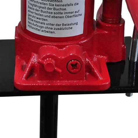 pressa da banco pressa idraulica manuale da banco 6 tonnellate 2 posizioni