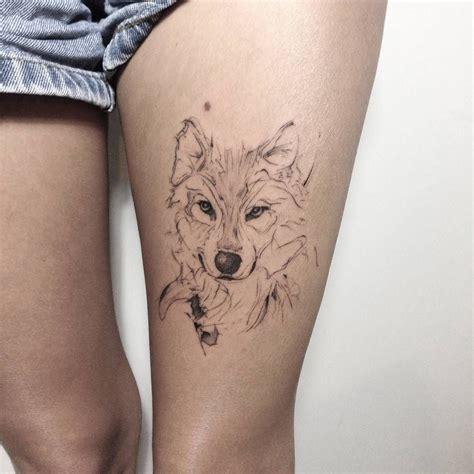 erstes tattoo inspiration tatuajes de lobos que puedes filtrar por estilo parte del