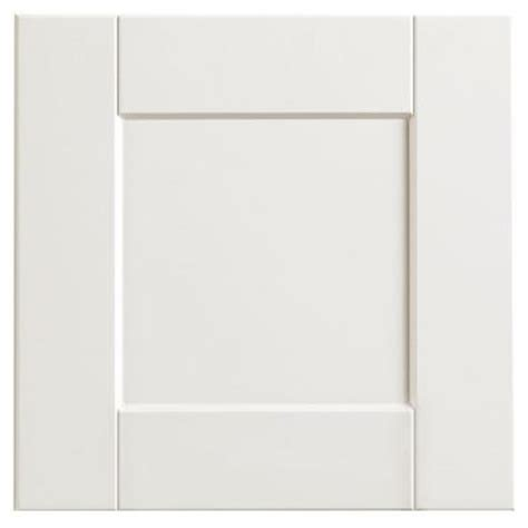 White Shaker Cabinet Door Hton Bay 12 75x14 In Cabinet Door Sle In Shaker Satin White Hbksmpldr Ssw The Home Depot