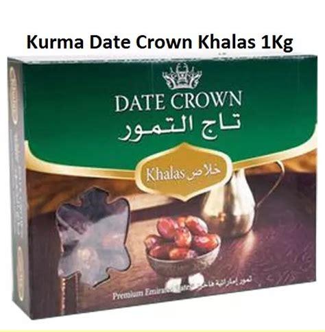 Kurma Khalas Datte Crown Dan Merk Date jual kurma date crown khalas box 1 kg di lapak juragan top juragantops