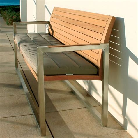 contemporary outdoor bench royal botania teak garden bench homeinfatuation com