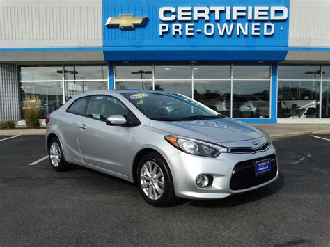 Pre Owned Kia Cars Pre Owned 2014 Kia Forte Koup Ex 2dr Car In Naperville