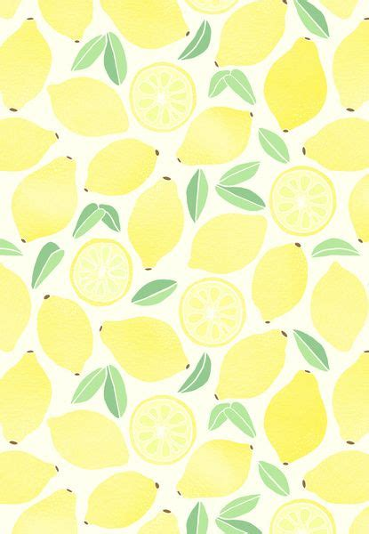 cute lemon pattern 17 mejores ideas sobre lemon print en pinterest patr 243 n