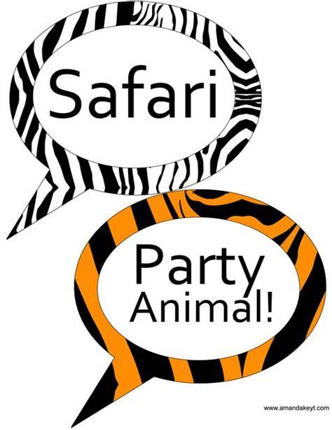 animal print photo booth props google search wild 72 beste afbeeldingen van themafeest jungle safari