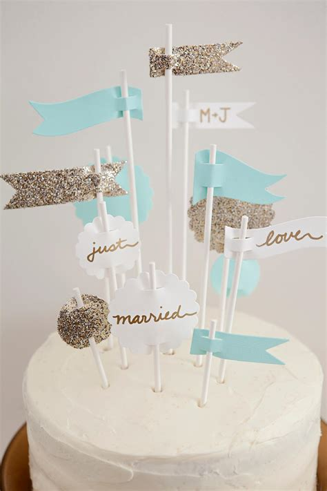diy weddings cake topper ideas and projects