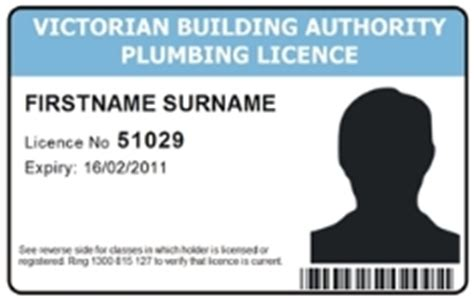 Plumbing Licence Check by Plumbing For Consumers Vba Website