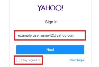 email yahoo sign in yahoo email sign in procedure guideline yahoo mail
