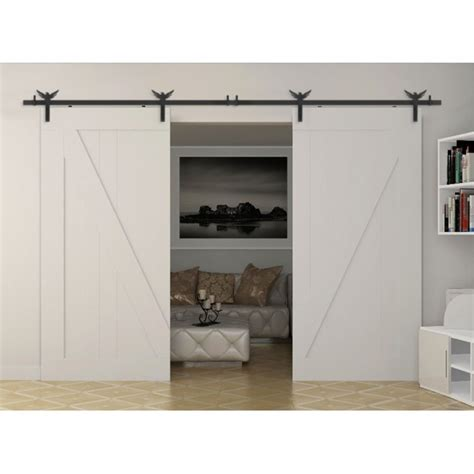 Winsoon 5 18ft New Decorative Sliding Barn Door Hardware Decorative Barn Door Track