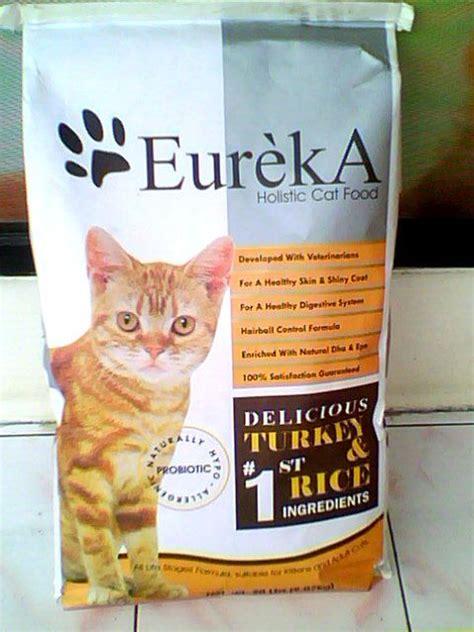 cat sound review makanan kucing eureka adult