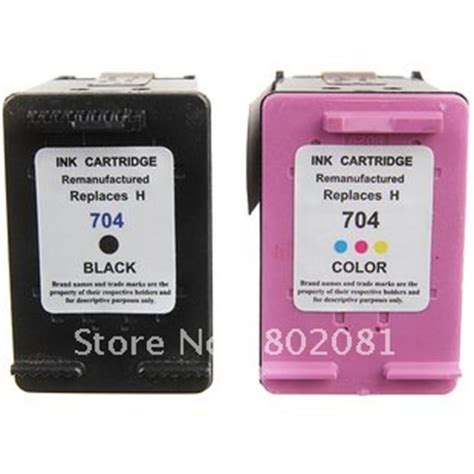 hp 2060 resetter free download 100 new color black ink sets compatible for hp 704 ink