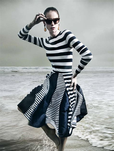 Stripes More Stripes Are The Stylish Answer To All Well Many Of Lifes Problems This Winter Fashiontribes Fashion by Fresh And Cool Style Striped Wearing Magic Wardrobes