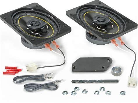 Jeep Wrangler Replacement Speakers Kicker Yj Spkup Kicker Front Dash Speaker Replacement
