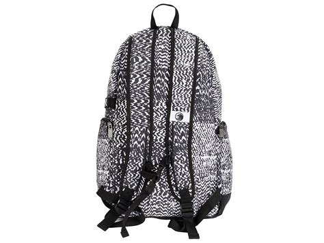 black and white pattern backpack the shadow conspiracy quot static quot backpack kunstform bmx