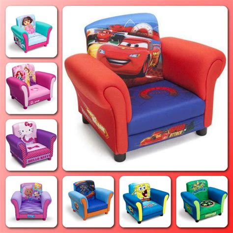 children s armchairs upholstered chair toddler armchair children furniture disney kids bedroom seat ebay