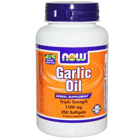 Dijamin Now Foods Garlic 1500 Mg 250 Softgels now foods garlic 1500 mg 250 softgels iherb