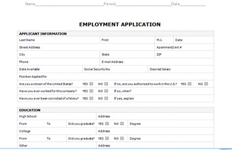 Truck Driver Job Application Template Business Plan Template Cdl Driver Application For Employment Template