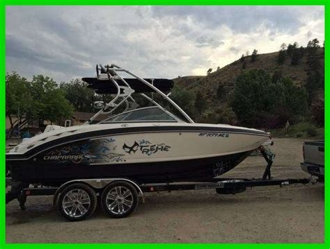 wakeboard boat on trailer 2011 chaparral extreme 224 wakeboard ski boat with trailer