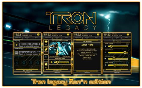 themes galaxy young s6310 theme dxame1 evil tron legacy samsung galaxy young s6310