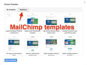 mailchimp sle templates new import mailchimp templates to gmail cloudhq