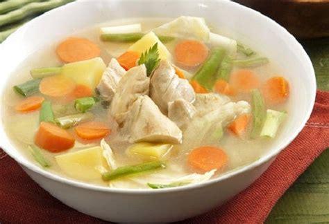 resep membuat sop buah enak cara membuat resep sop ayam enak lezat bumbu spesial