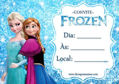 imagenes de frozen que digan feliz cumpleaños convites festa frozen para imprimir gratuitos dicas