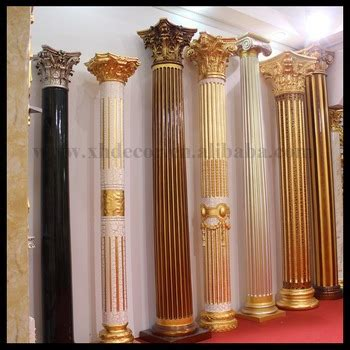pillars in home decorating frp decoration roman column pillar not gypsum roman column