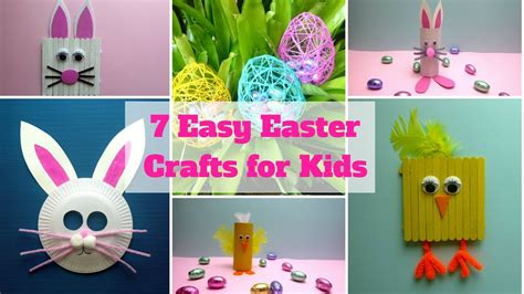 7 Craft Ideas For by 7 Easy Easter Crafts For Easter Craft Ideas Diy
